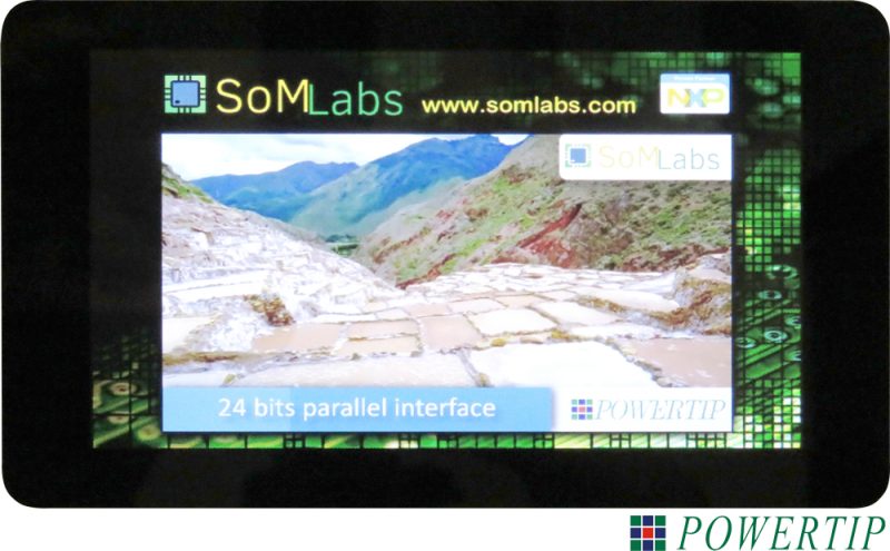 SL-TFT7-TP-800-480 Datasheet and Pinout - SomLabs Wiki